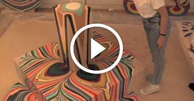 Dieses Kunst-Video ist das hypnotisierendste, was Du jemals sehen wirst!