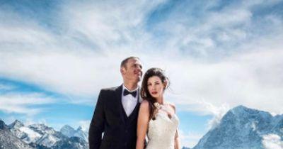 Dieses Paar heiratet auf dem Mount-Everest