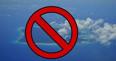 Es ist strengstens verboten diese Insel zu betreten
