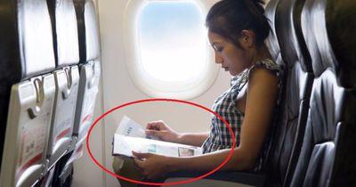 Deswegen solltest du im Flugzeug das Bordmagazin nicht lesen