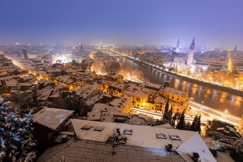 Europäische Städte, die im Winter sogar schöner sind