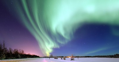 Die 5 besten Orte, um Polarlichter zu sehen