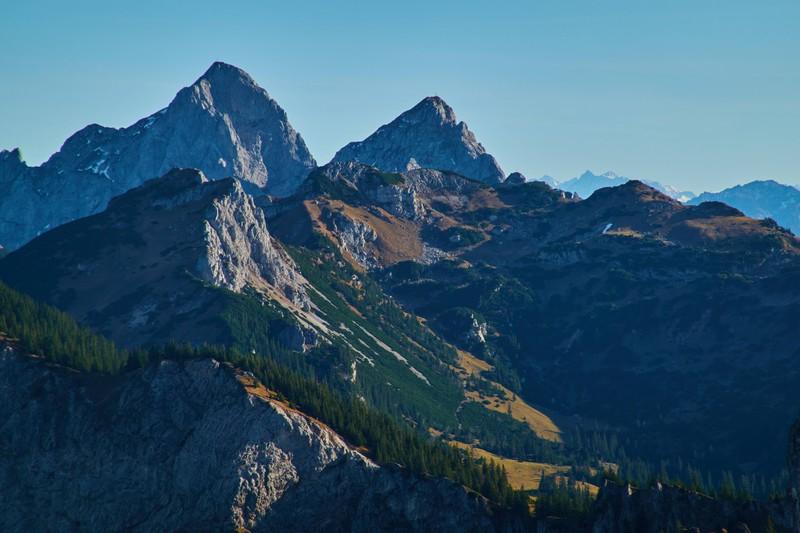 Die Zugspitze ist mit 2.962 Metern der höchste Berg Deutschlands.