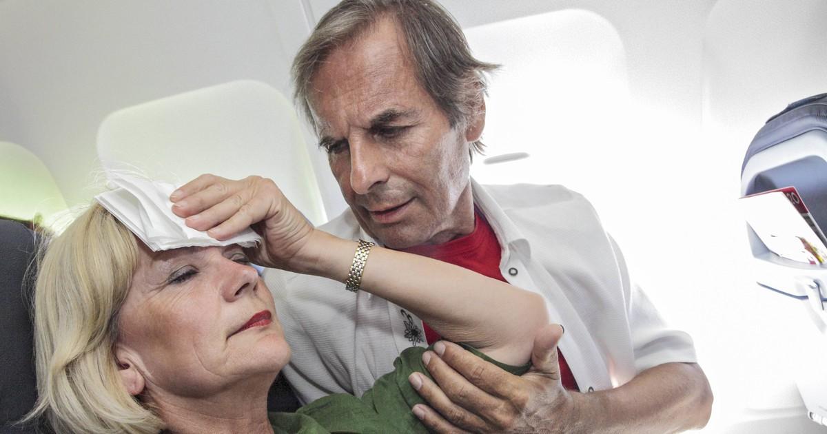 So vermeidest du es, im Flugzeug krank zu werden