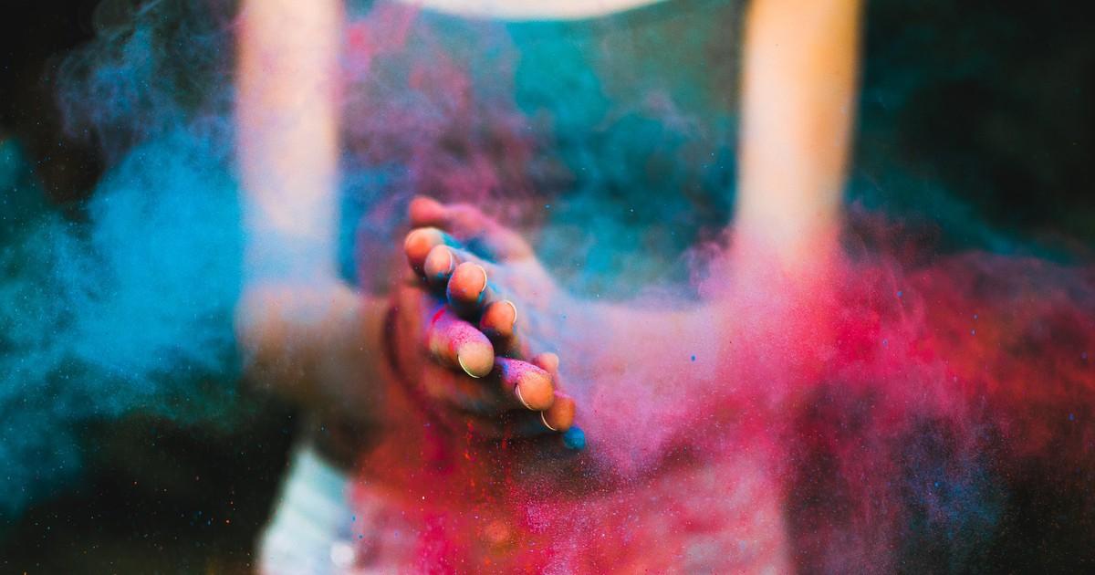 Das Holi Color Fest in Indien
