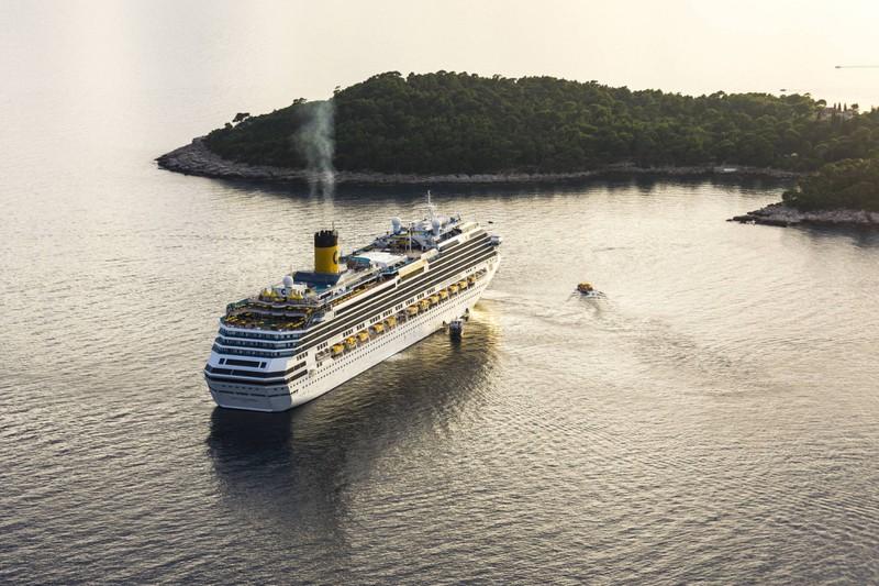 Kreuzfahrtschiffe können der Umwelt Schaden zufügen.