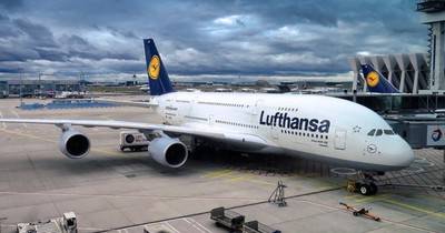 Lufthansa testet biometrisches Boarding