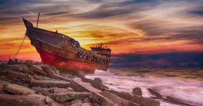 An diesen Stränden kannst du 4 wunderschöne Schiffswracks bestaunen: