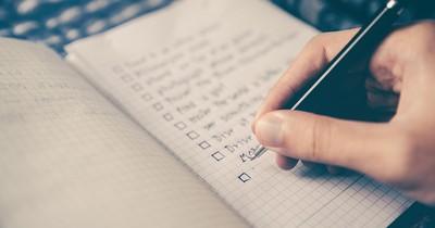Die Checkliste für große Reisen