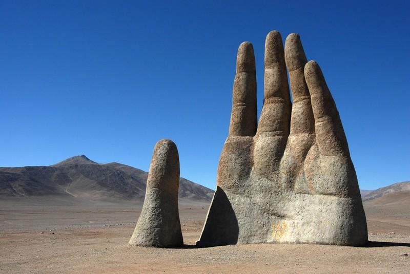Die Atacama Wüste solltest du in deinem Leben einmal besucht haben.