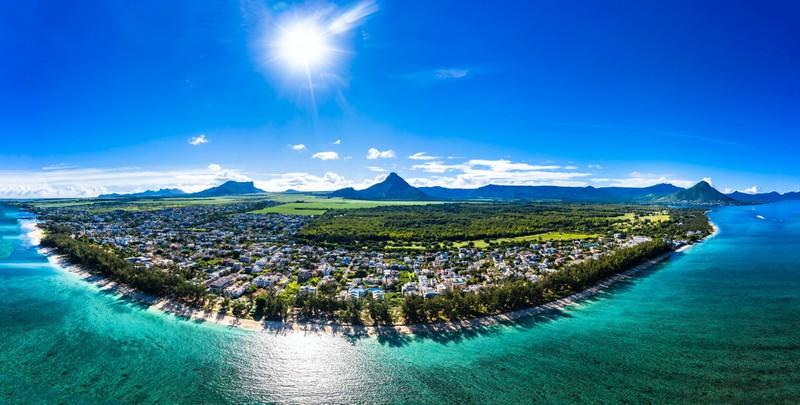 Die blauen Lagunen Mauritius sollte man einmal gesehen haben!