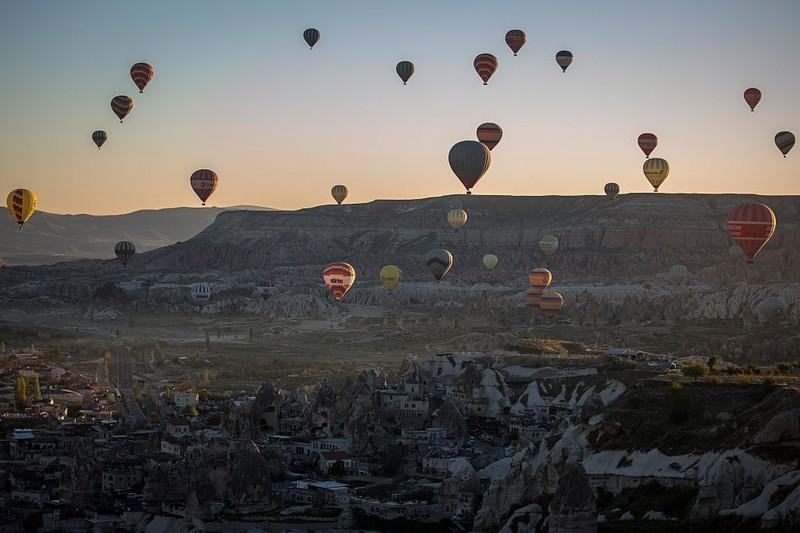 Wer Huftballons gerne anschaut, wird in Kappadokien viel Freude haben.