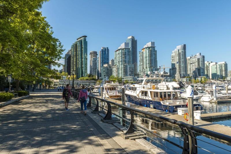 Der kanadische Stolz kommt in Vancouver sehr aufgesetzt rüber.