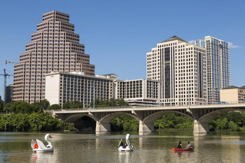 Die Menschen in Austin vermitteln kein erholsames Gefühl, sondern sind meist sehr gestresst.
