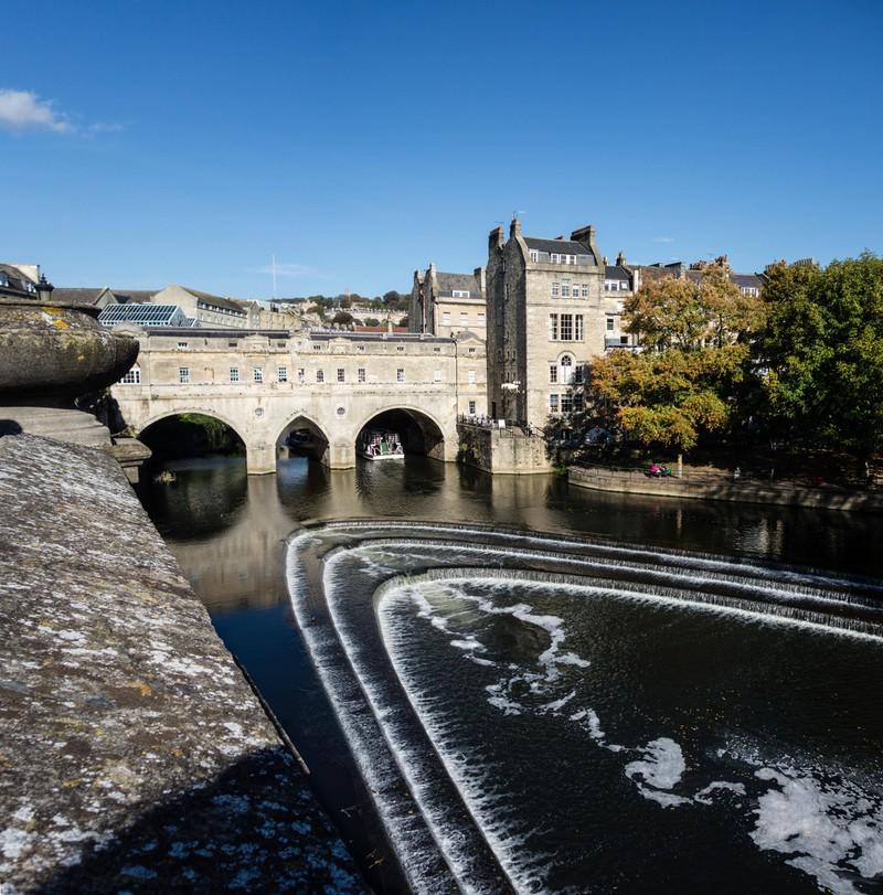 Bath ist ein schönes Reiseziel in Großbritannien