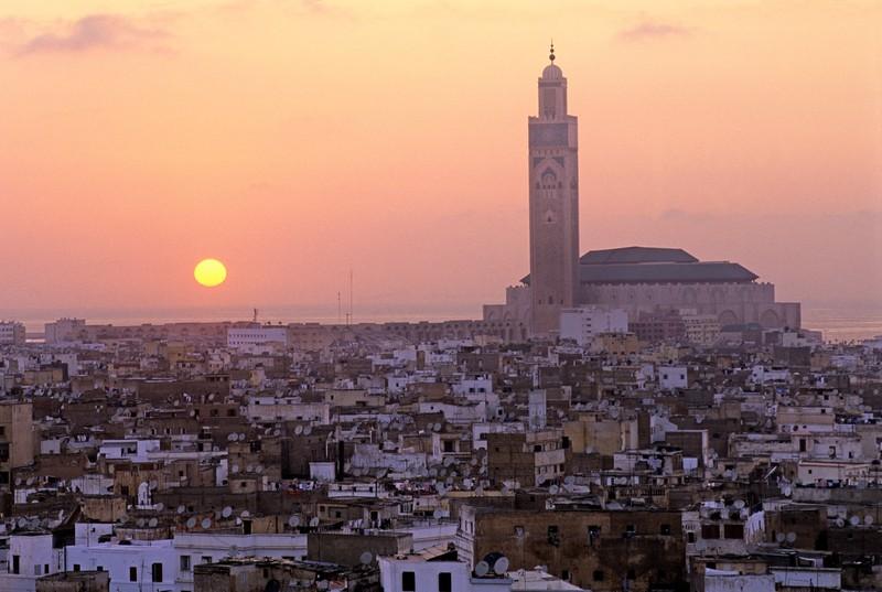 Casablanca ist ein wunderschöne Urlaubsziel