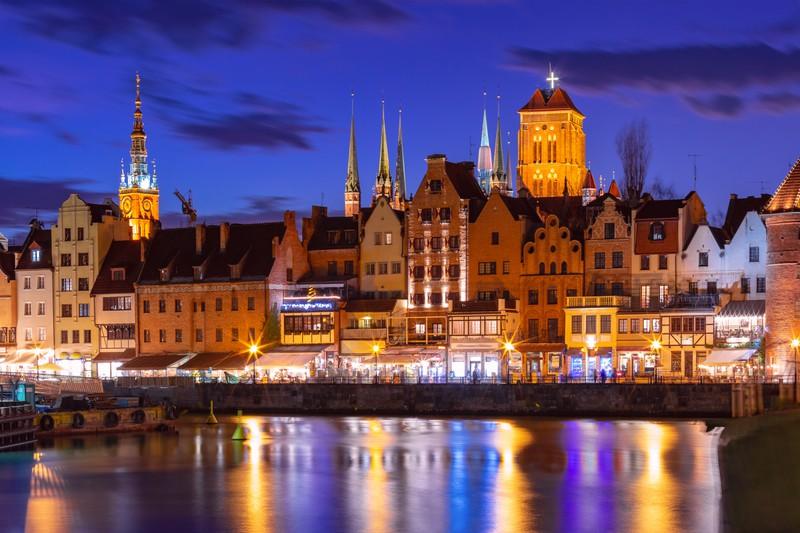 Danzig ist für seine schöne Altstadt bekannt