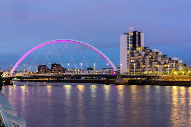 Glasgow gilt als toller Urlaubsort in Schottland