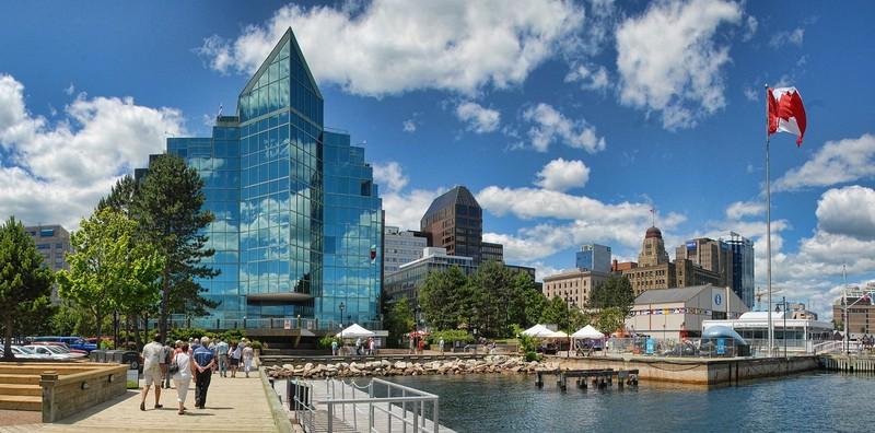 Halifax in Kanada ist eine schöne Hafenstadt