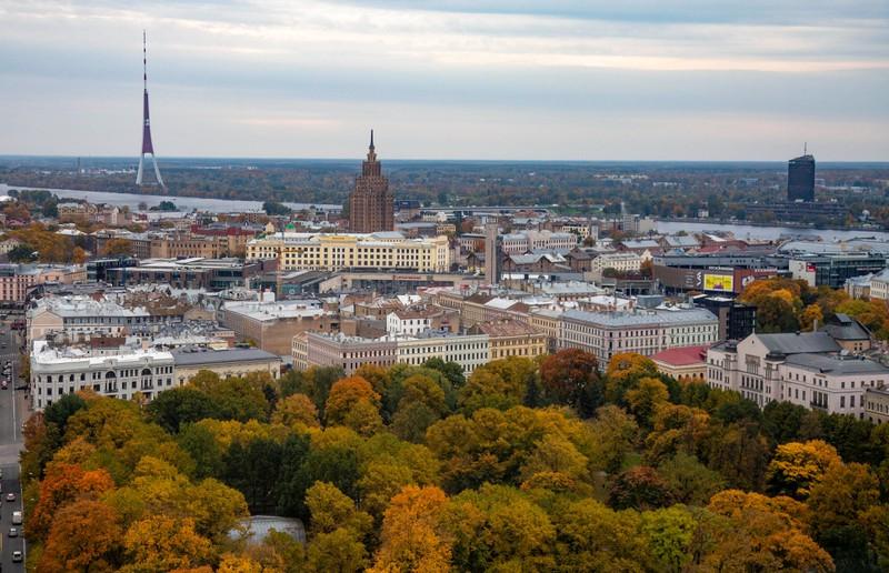 Riga ist ein sehr schöner Urlaubsort im Baltikum