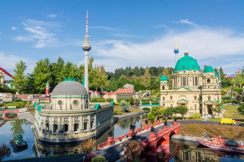 Das Legoland in Deutschland ist einer der meistbesuchten Freizeitparks