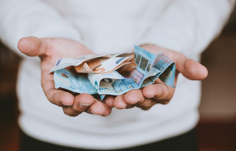 Dieses Bild zeigt ein Reisebudget.