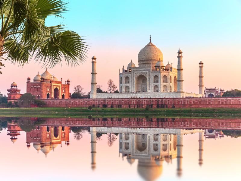 Man sieht Indien und es geht um günstige Reiseziele weltweit.