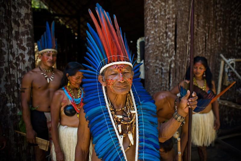 Der Dessano-Stamm ist nur einer der dort lebenden Stämme