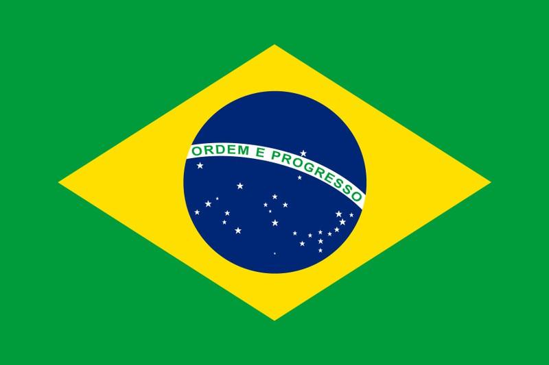 Man sieht die brasilianische Flagge und es geht um ein Brasilien-Fakten-Quiz.