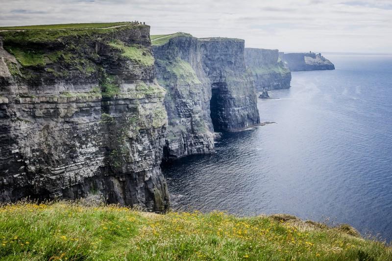 Die Steilklippen sind das Wahrzeichen des Landes und waren bereits in vielen Filmen zu sehen.