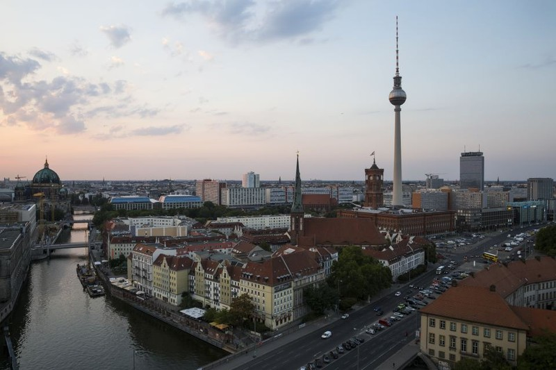 Dieses Bild zeigt die Stadt Berlin in Deutschland.