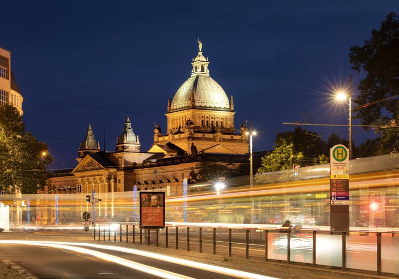 Dieses Bild zeigt die Stadt Leipzig in Deutschland.
