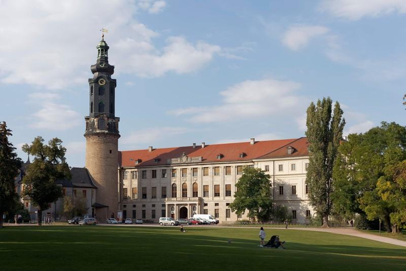 Dieses Bild zeigt die Stadt Weimar in Deutschland.