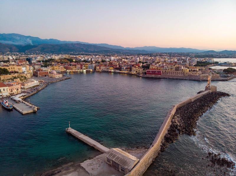 In Kreta fühlt man sich teils, als wäre man in Venedig.
