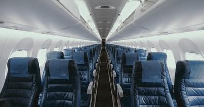 Leere Reihe im Flugzeug: Was hat es zu bedeuten?