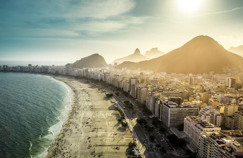 Der Strand der Copacabana