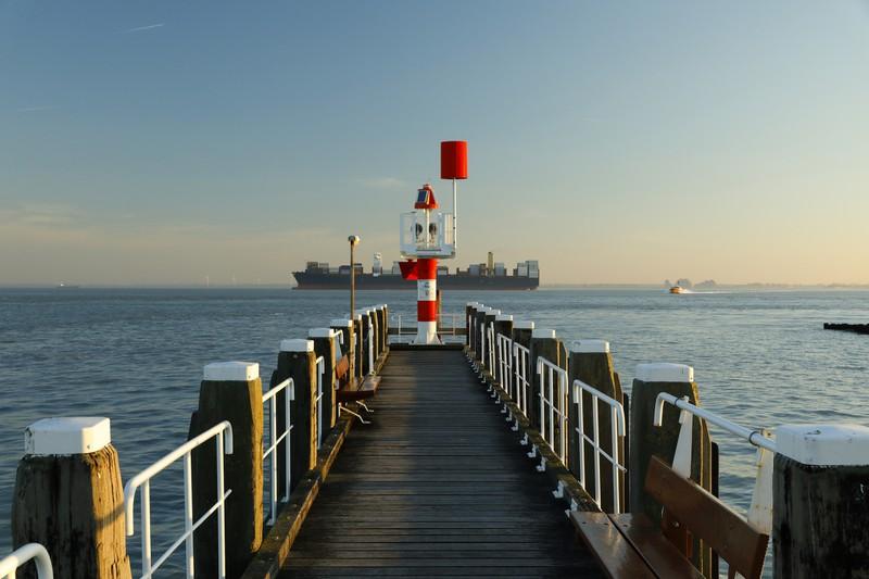 Hafen von Vlissingen, Walcheren, Niederlande