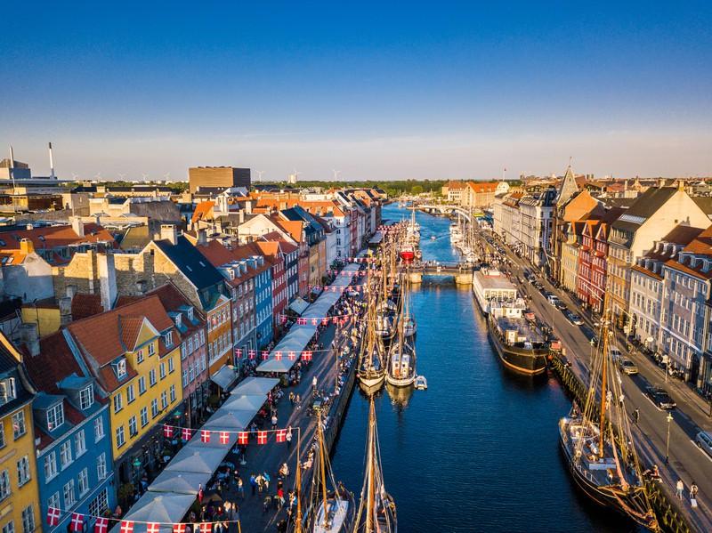 Koppenhagen in Dänemark