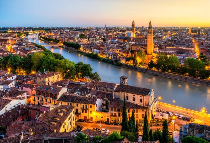 Verona in Italien