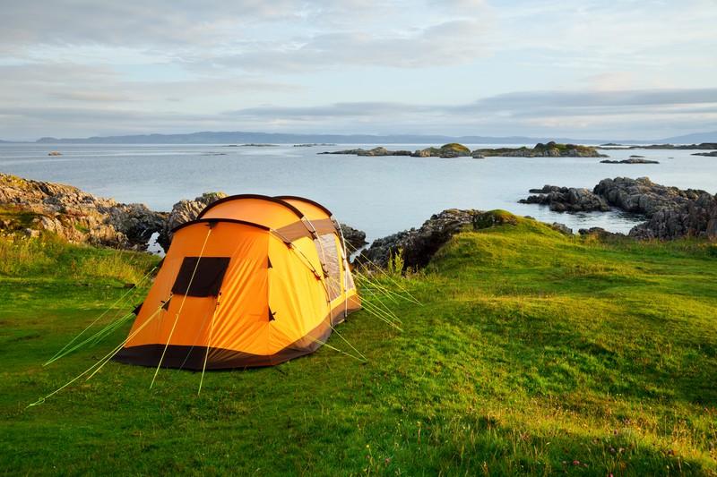 Wildes Camping in Schottland