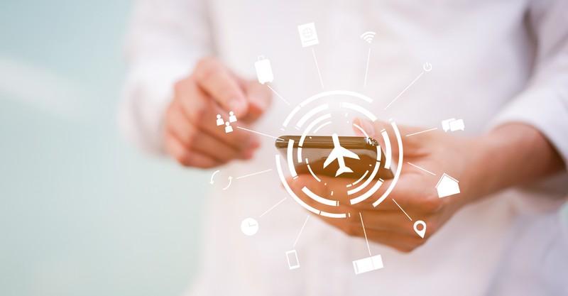 Handy auf Flugmodus stellen