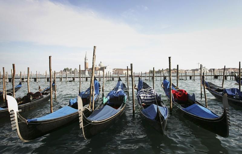 Ein begehrtes Reise-Ziel in Europa auch bei den Stars: Venedig