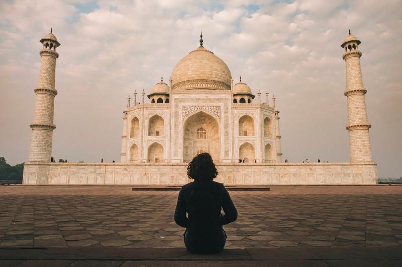 Indien liegt nicht in Europa
