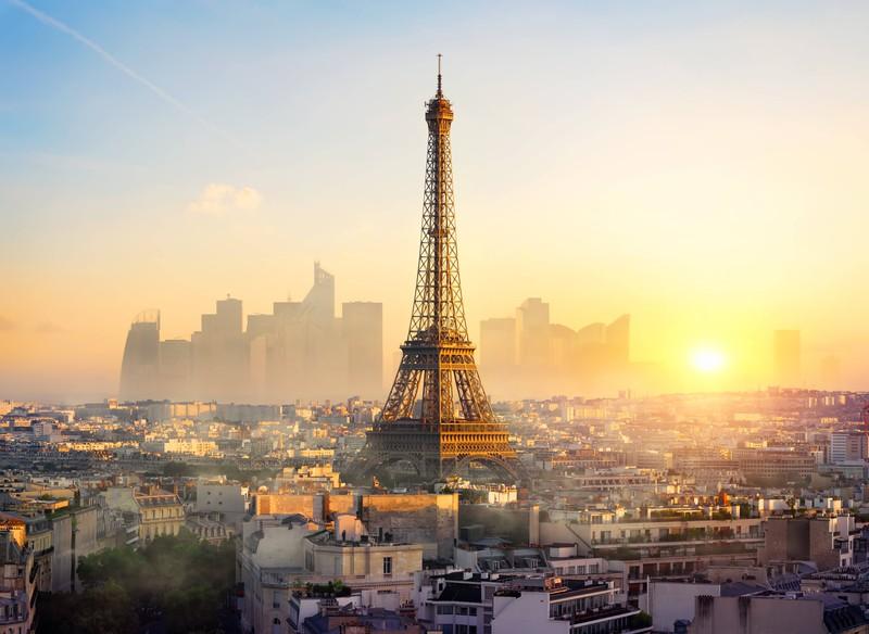 Paris ist die Stadt der Liebe