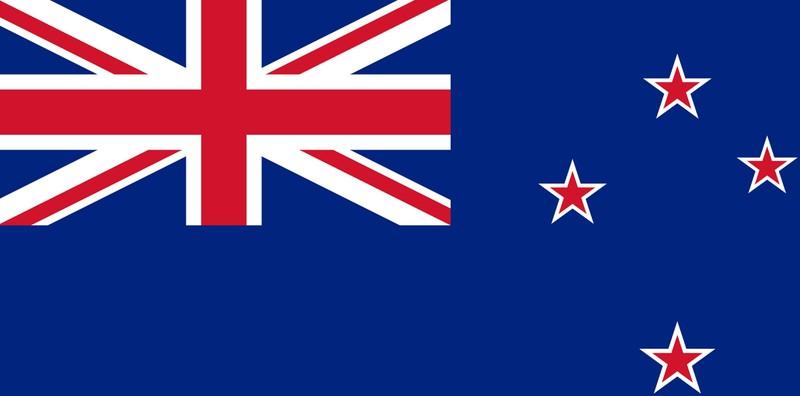 Richtig: Auf der Flagge Neuseelands sind vier Sterne