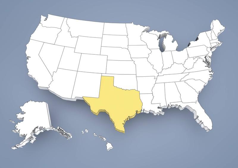 Richtig: Im Quiz wird erklärt, das Texas mehr Fläche als Frankreich hat