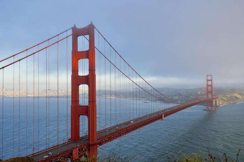Der golden Gate Bridge sollte man einen Besuch abstatten