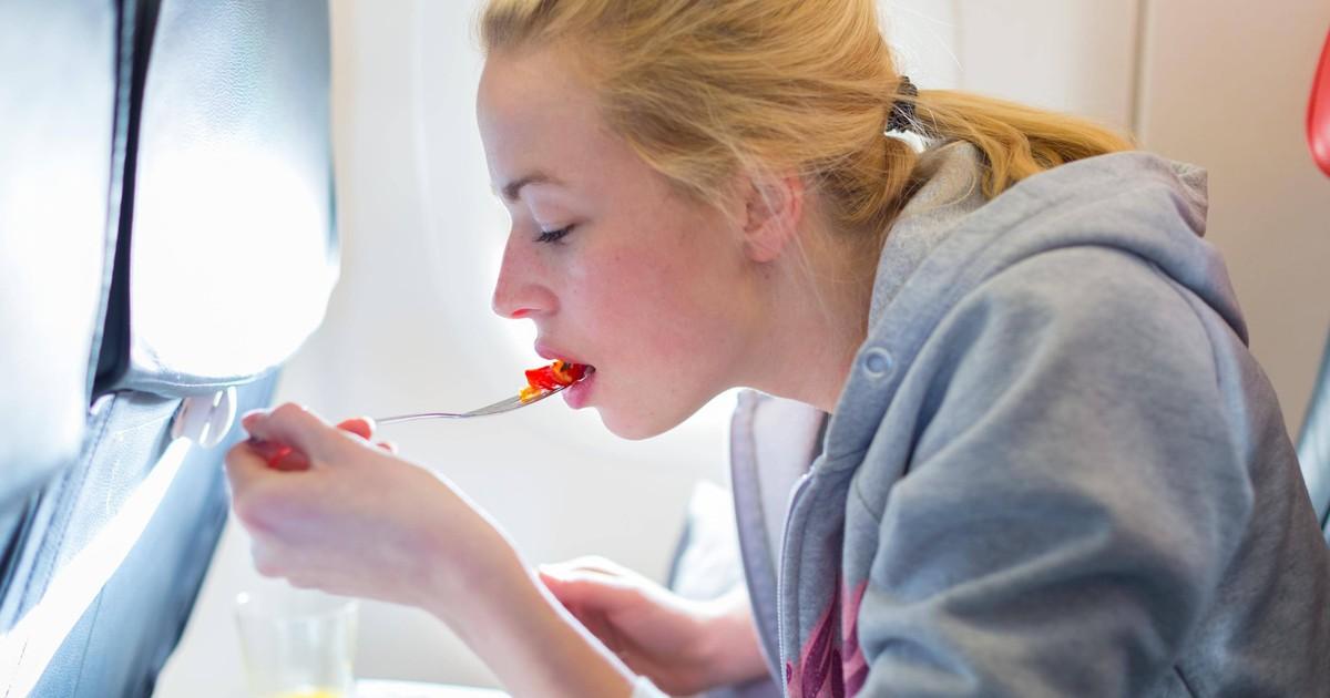 Lebensmittel, die du vor dem Flug besser nicht essen solltest