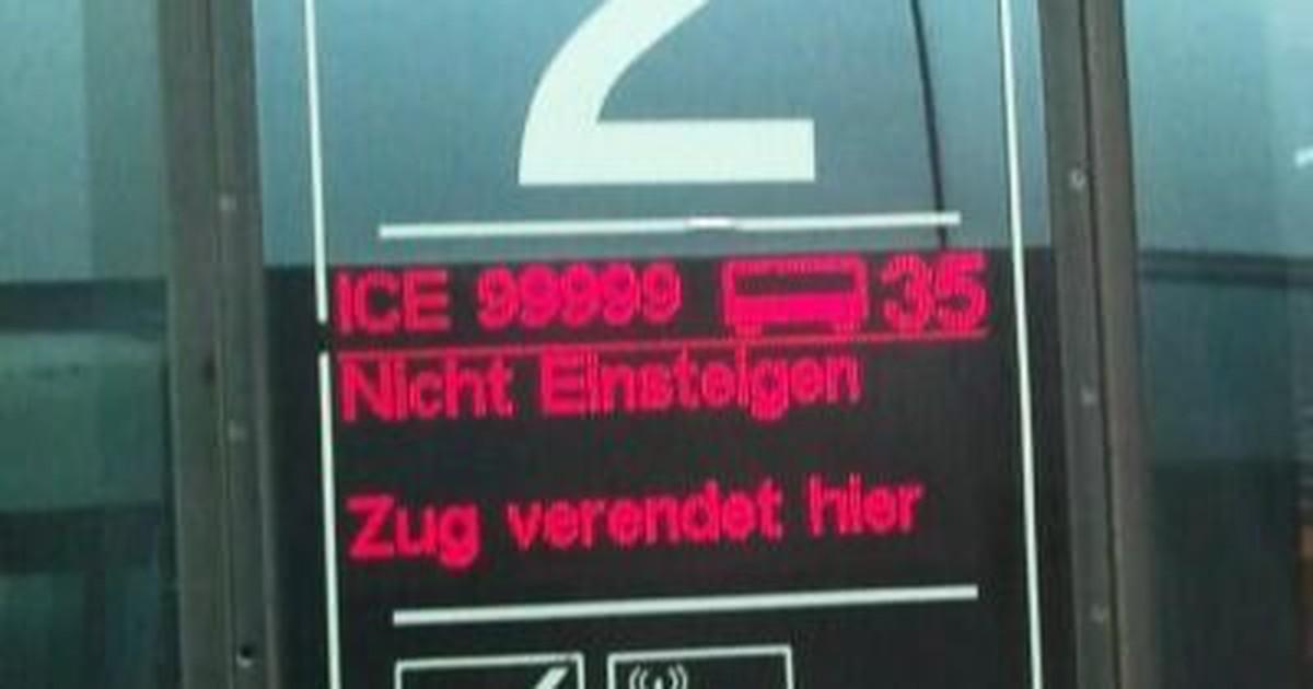 Lustige Fails der Deutschen Bahn