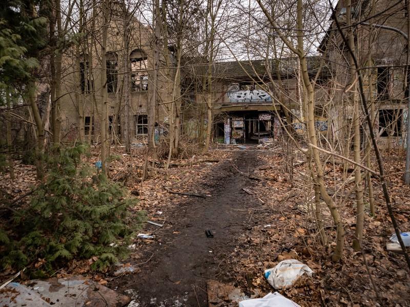 Das ehemalige Kinderkrankenhaus ist ein gruseliger Ort in Berlin.